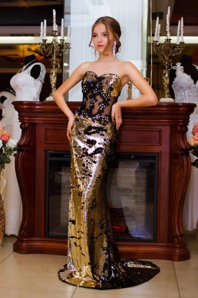 Вечернее платье 3738