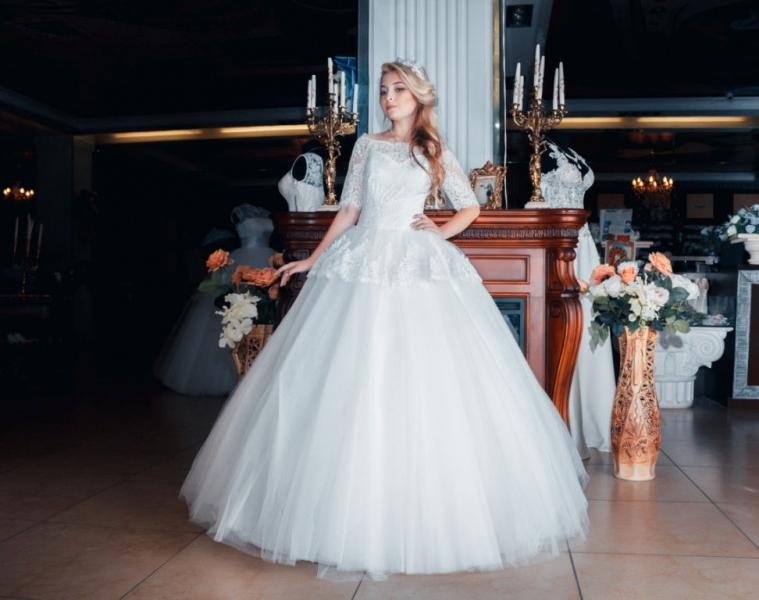 Свадебное платье Басочка 14-28