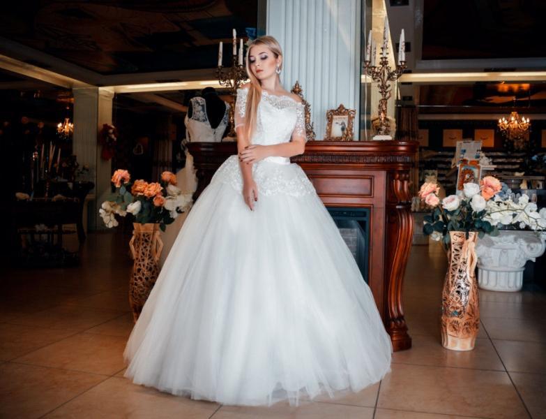 Свадебное платье Беренгария басочка