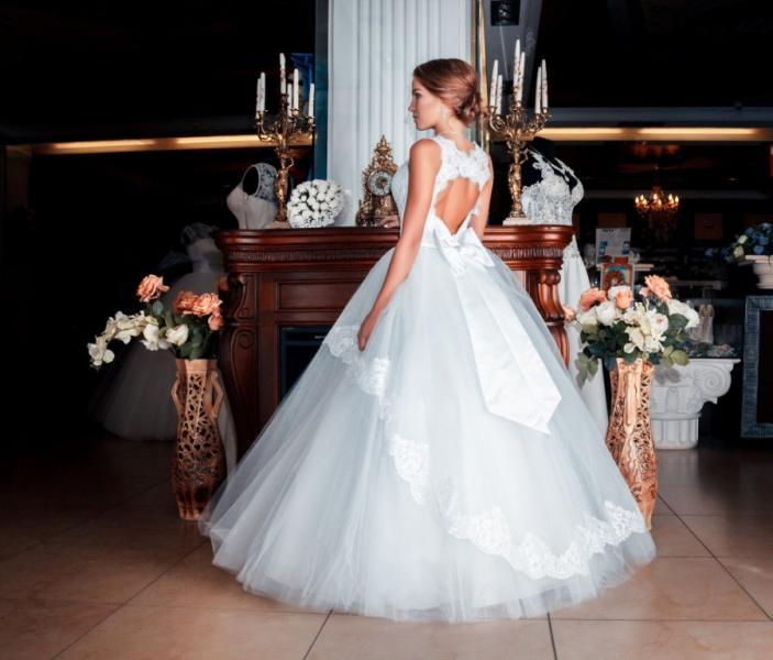 Свадебное платье Сердечко