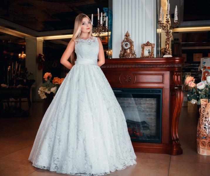 Свадебное платье Даниэлла бархат