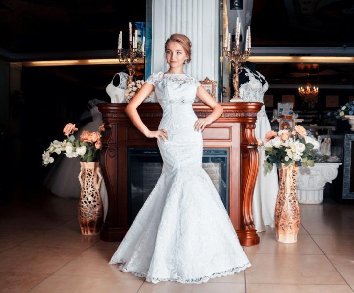 Свадебное платье Рыбка Александра бархат