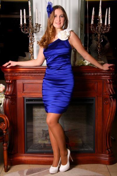 Вечернее платье короткое 1655