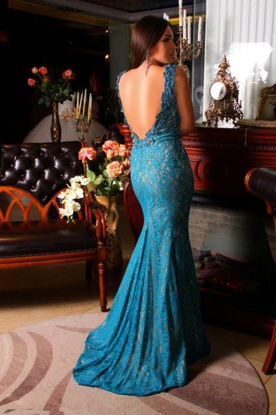 Вечернее платье 7650
