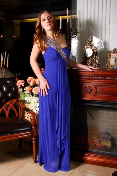 Вечернее платье 7875