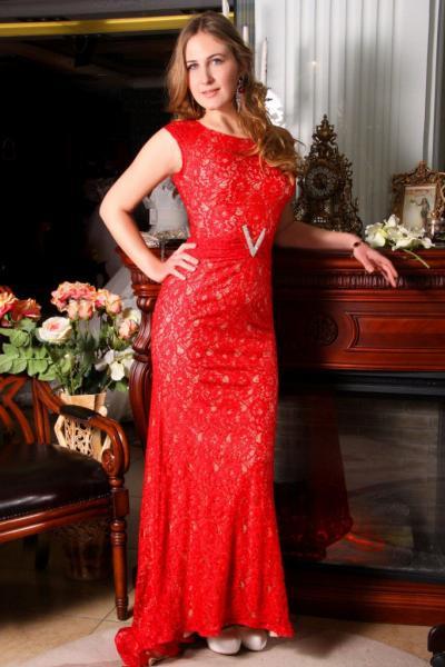 Вечернее платье 8439