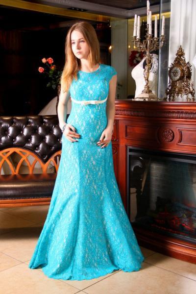 Вечернее платье рыбка Александра