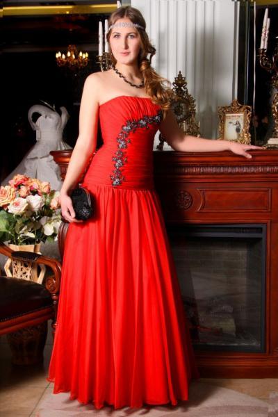 Вечернее корсетное платье Алина