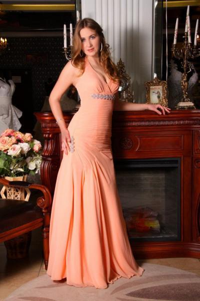 Вечернее корсетное платье Голливуд
