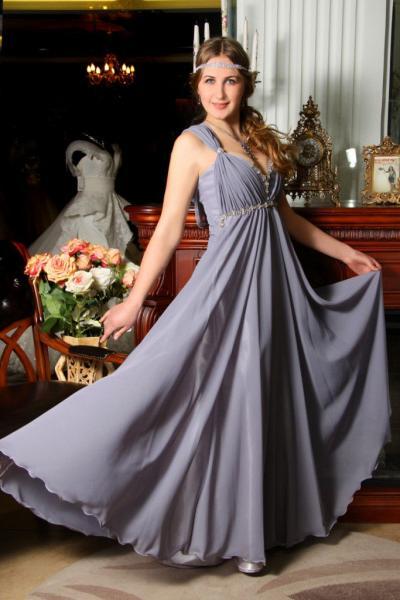 Вечернее платье Крылья