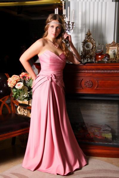 Вечернее корсетное платье Феличита