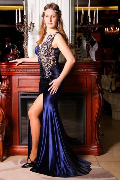 Вечернее платье 8431