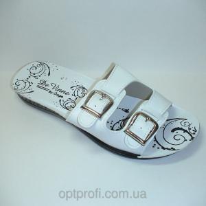 Фото  Шлепанцы на застежках под разные ноги, широкая, узкая.