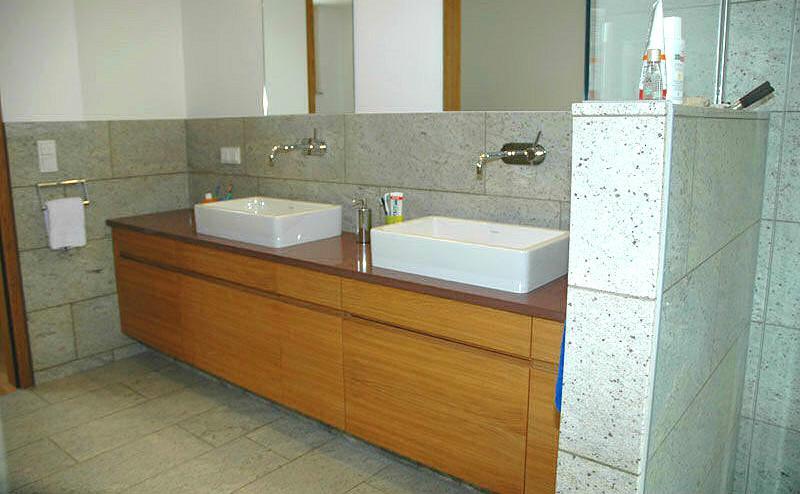 Мебель для ванной по индивидуальным проектам