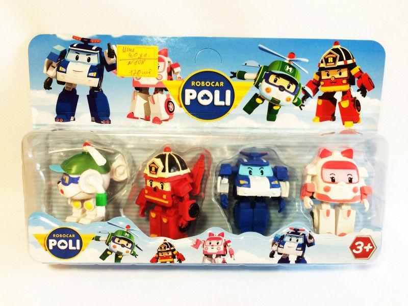 Набір героїв Робокар Полі!