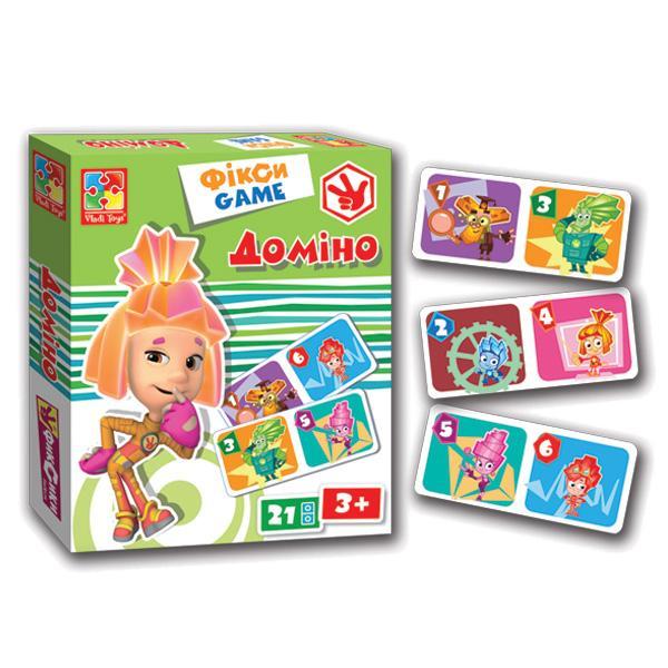 Фикси-игра «Домино» укр. Vladi Toy VT2107-01