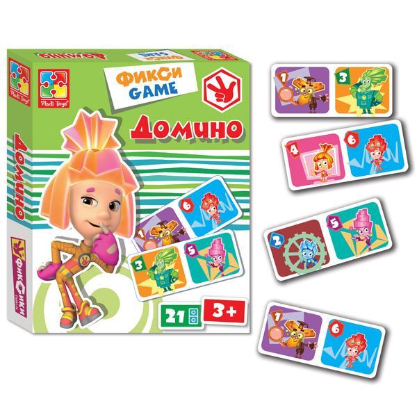 Фикси-игра «Домино» Vladi Toy VT2107-01