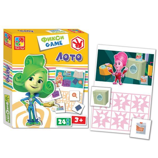Фикси-игра «Лото» Vladi Toy VT2107-03