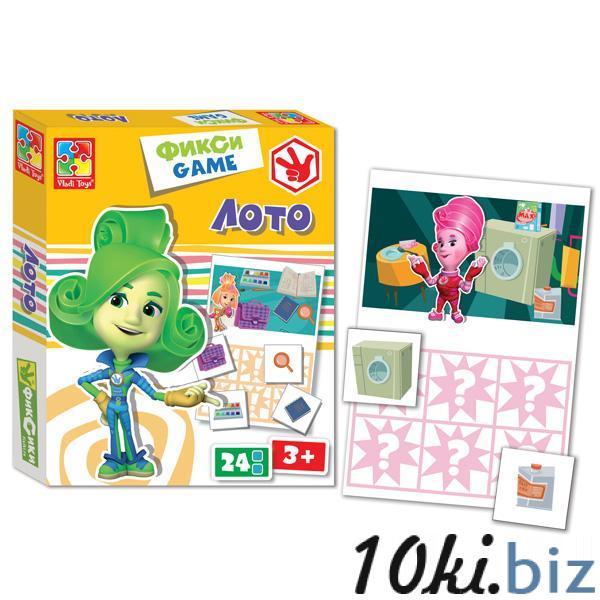 Фикси-игра «Лото» Vladi Toy VT2107-03 Детское домино, лото в Украине