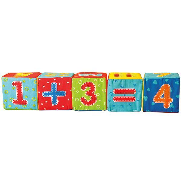 Мягкие кубики «Цифры» укр. Vladi toys VT1401-04