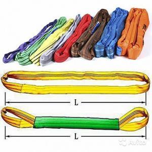 Фото Стропы грузоподъемные (канатные, цепные, текстильные) Стропы текстильные круглопрядные