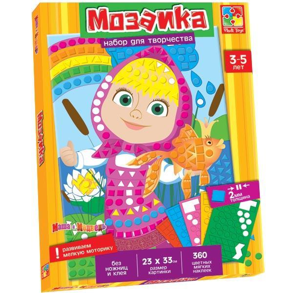 Мягкая мозаика с Машей Vladi toys VT4207-04