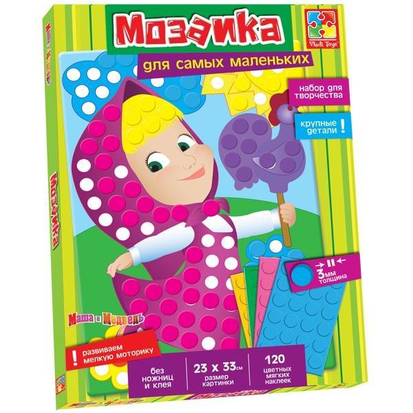 Мягкая мозаика с Машей Vladi toys VT4207-02