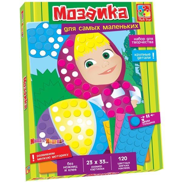 Мягкая мозаика с Машей Vladi toys VT4207-01