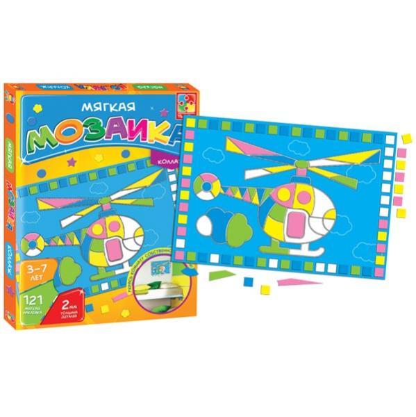 Мозайка-коллаж «Вертолет» Vladi toys VT2301-06