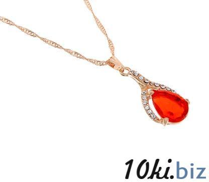 """Кулон """"Капелька"""", цвет красный в золоте купить в Беларуси - Сувенирные наборы для мужчин"""