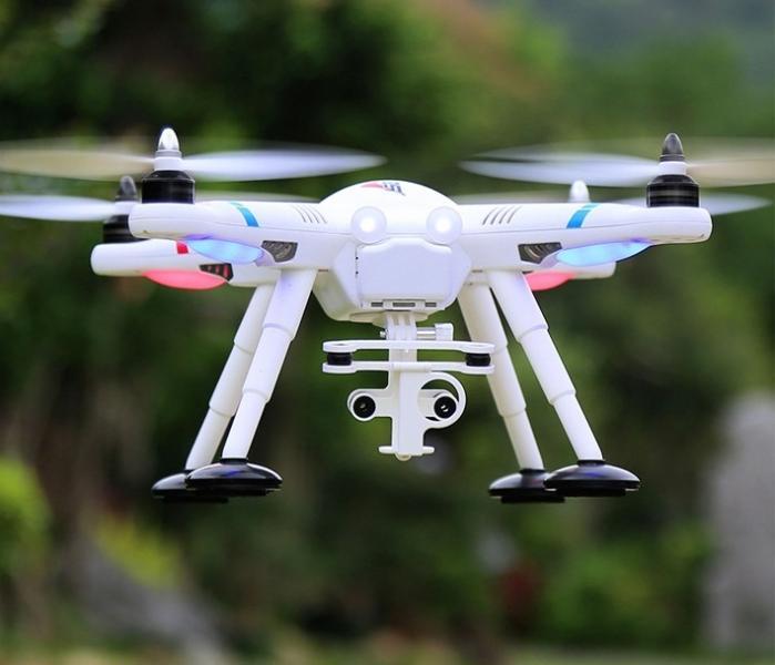 Квадрокоптер WlToys V303 с удержанием позиции по GPS.