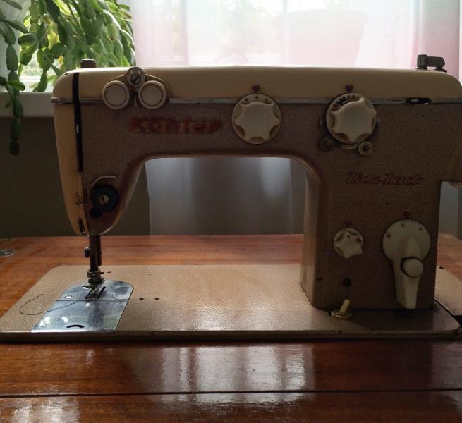 Швейная машина KÖhler Zick-Zack Германия