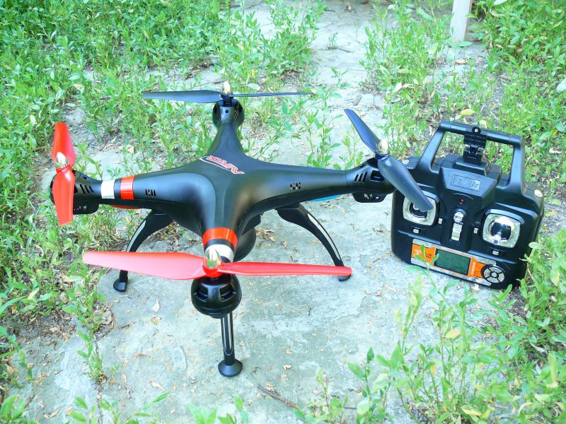 Квадрокоптер RQ77-12, размер 52х52 см. С камерой Wifi для FPV.