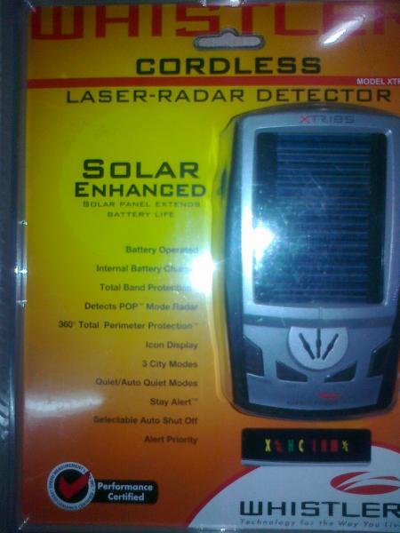 Радар-детектор WHISTLER xtr 185