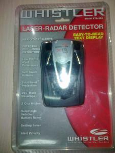 Фото Автомобильные радар-детекторы Радар-детектор WHISTLER 555