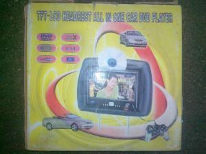 Фото Автомобильные мониторы-подголовники Автомобильный подголовник-монитор 9''