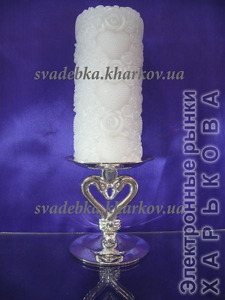Подсвечник ПС-02 - Свадебные подарки и сувениры на рынке Барабашова