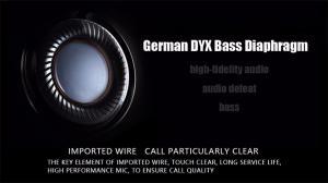 Фото Наушники Гарнитуры Qkz DM5 наушники вкладыши 3.5 мм супер стерео звук с микрофоном