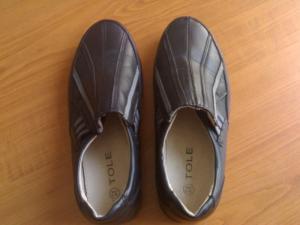 Фото ОДЕЖДА/ОБУВЬ, ЖЕНСКАЯ Туфли для девочки (черные)