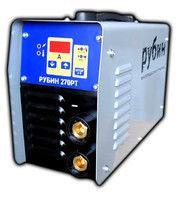 Сварочный инвертор Рубин 270 РТ (процессорный)