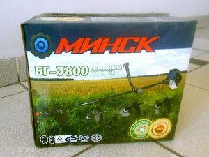 Мотокоса Минск БГ-3800 (она же БГ-3400)