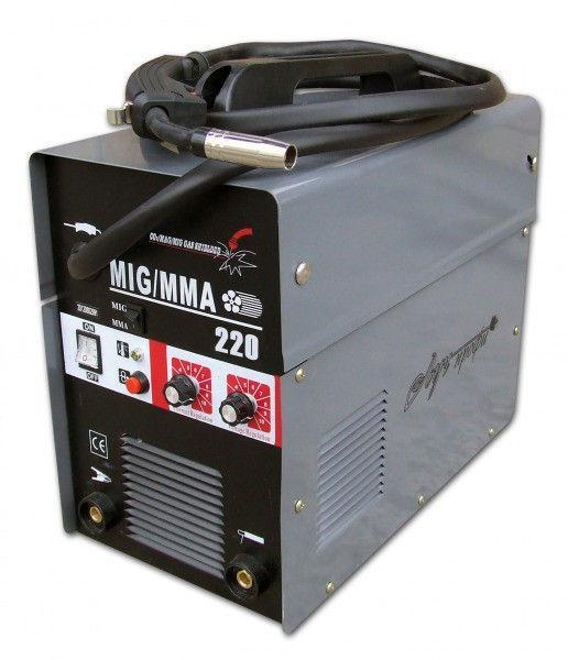 Инверторный полуавтомат Луч Профи MIG 220 (+MMA)