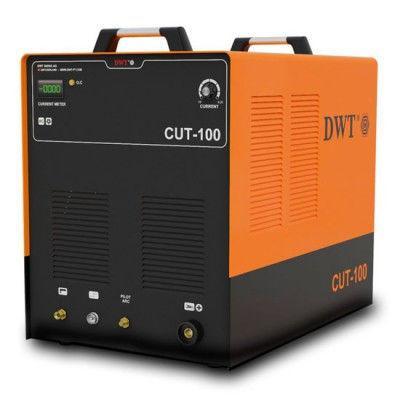 Плазморез DWT CUT-100 Вес кг 24 Номинальная мощность  7.5 кВА Вес  24 кг Размеры в упаковке  62 x 57 x 54 см Гарантия  24 мес. Номинальное напряжение  AC220B±10% Частота  50/60 Гц Диапазон изменения тока  50-200 A Номинальное напряж. на выходе  16.5-24 B