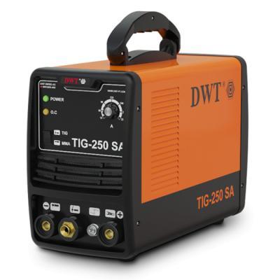 Аргонодуговой инвертор DWT TIG-250 SA Гарантийный срок мес 24 Вес кг 8,5 Номинальная мощность  8.6 кВА Вес  8.5 кг Размеры в упаковке  50 x 39 x 34 см Гарантия  24 мес. Номинальное напряжение  AC220B±10% Частота  50/60 Гц Диапазон изменения тока  10-250 A