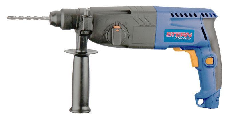 Перфоратор STERN, RH - 24 A Вес кг 5 Реверс  да Тип патрона  SDS-plus Тип патрона  SDS-Plus Источник питания  от сети