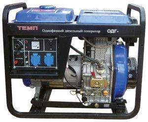 Однофазный Дизельный Генератор Темп ОДГ-6500