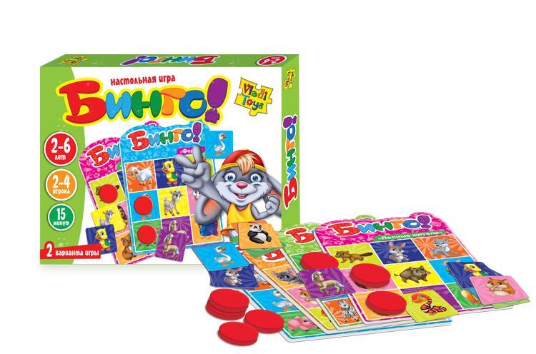 Настольная игра «Бинго» Vladi Toys VT2106-02