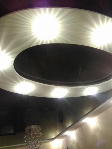 Натяжные потолки в ресторан