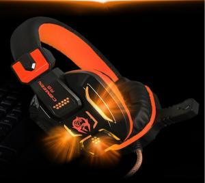 Фото Наушники Гарнитуры Canleen R8 Наушники игровые для компьютерных игр  3.5 мм разъем c микрофоном