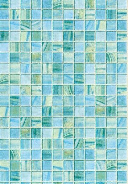Стеновая Панель ПВХ Мозаика бирюзовая